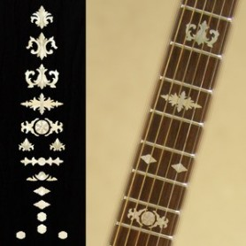 stickers manche guitare