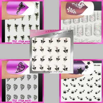 stickers pour ongles pas cher