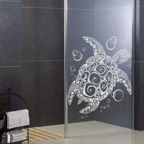 stickers pour vitre douche