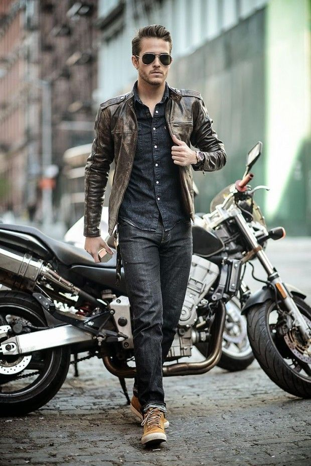 style rock homme