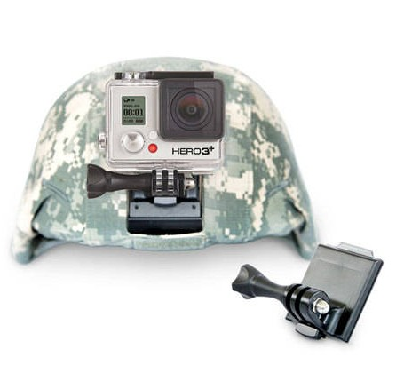 support gopro casque airsoft