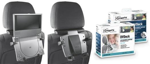support voiture lecteur dvd portable