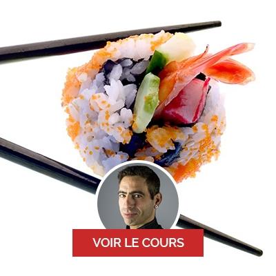 sushi domicile