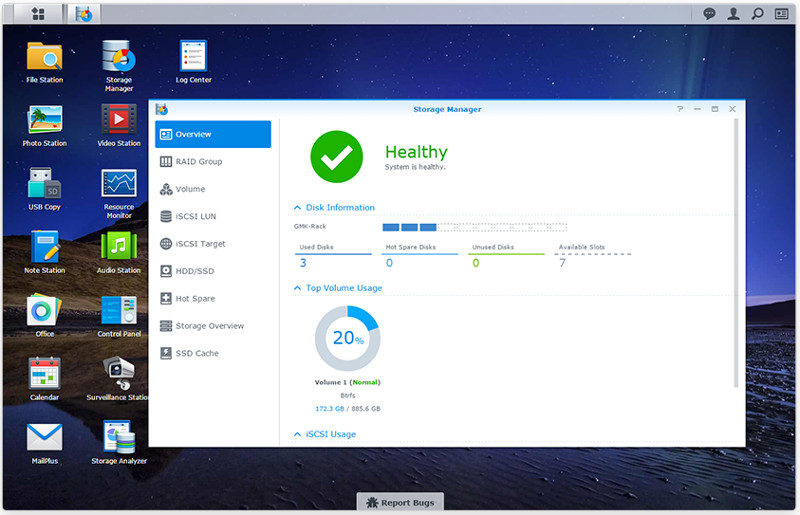 synology nas test