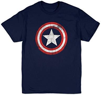 t shirt captain america