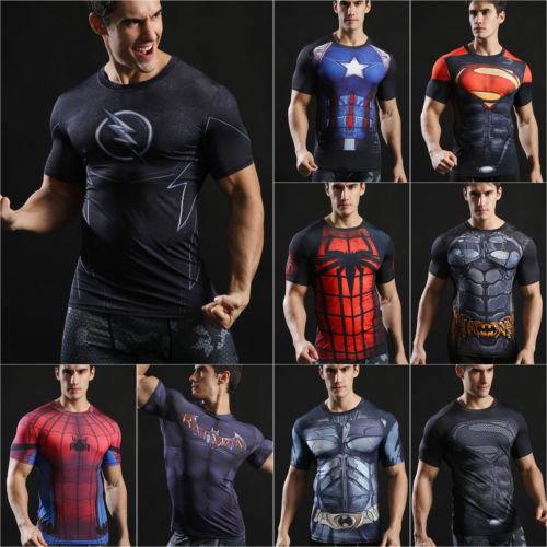 t shirt compression marvel