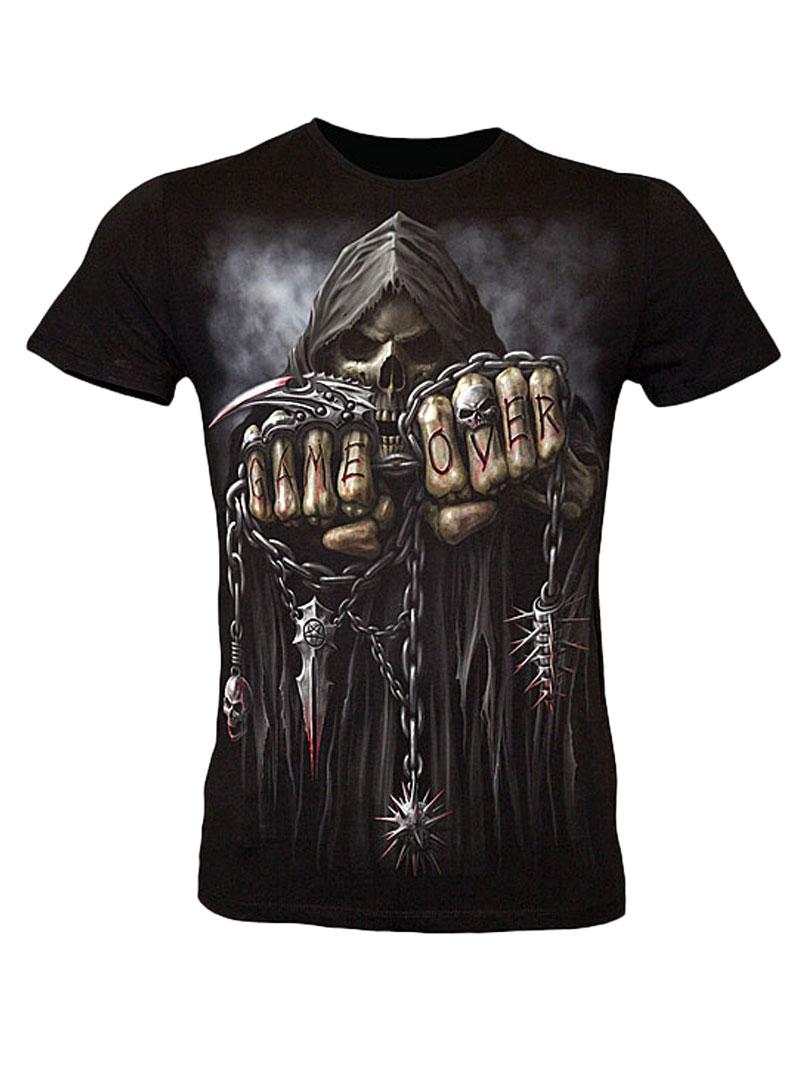 t shirt gothique homme