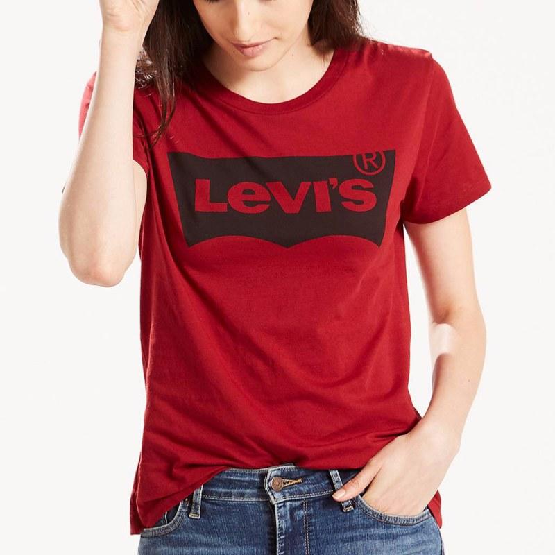 t shirt levis rouge