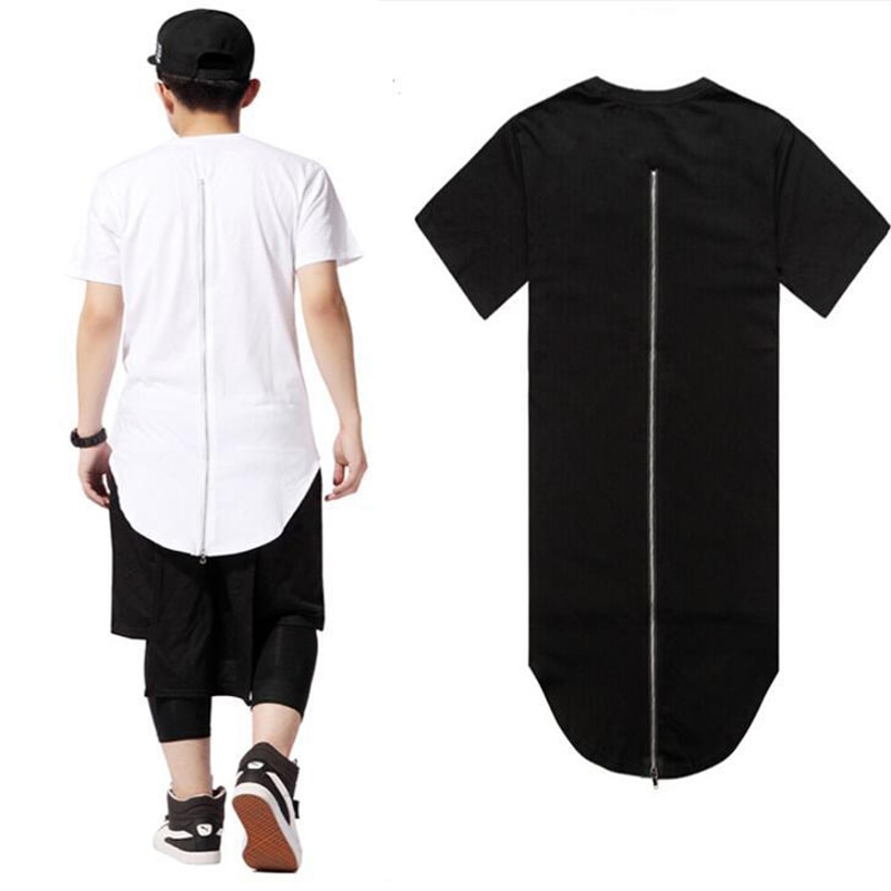 t shirt long homme swag