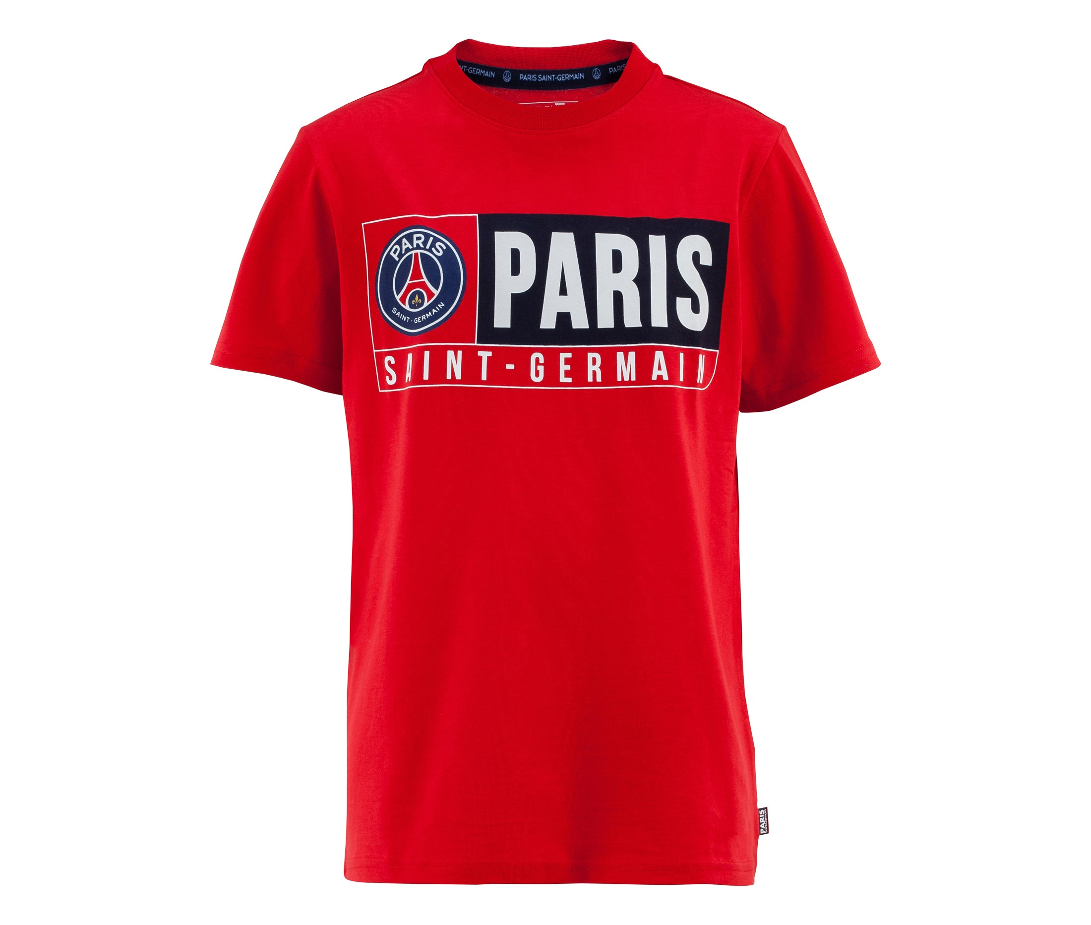 t shirt psg rouge