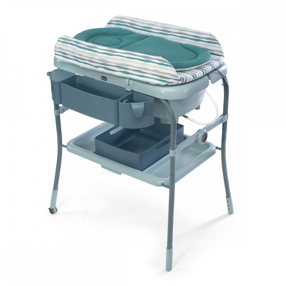 table a langer avec baignoire pliable