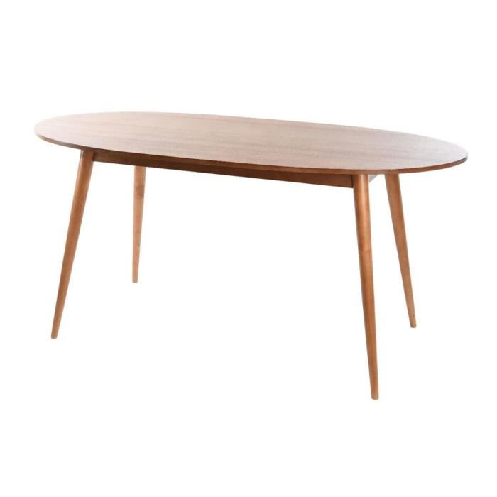 table a manger scandinave ovale