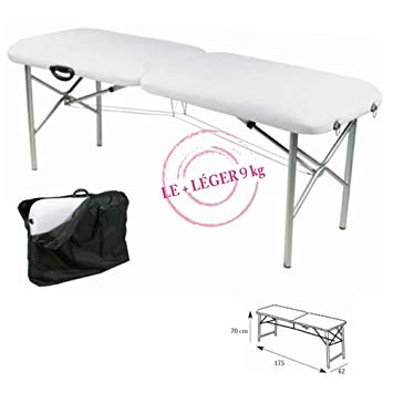 table de massage portable ultra légère