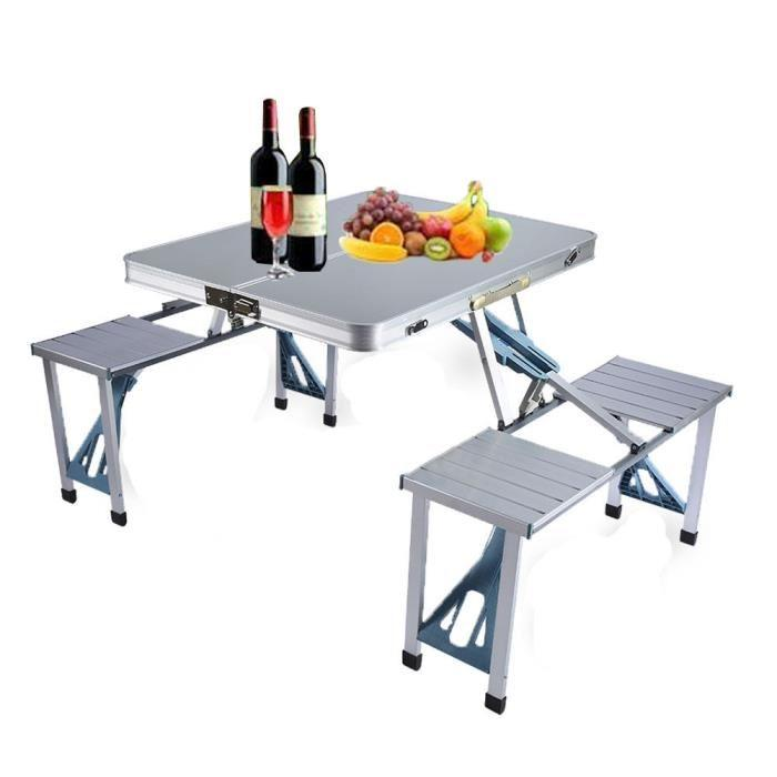 table de pique nic portable