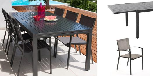 table jardin 3m