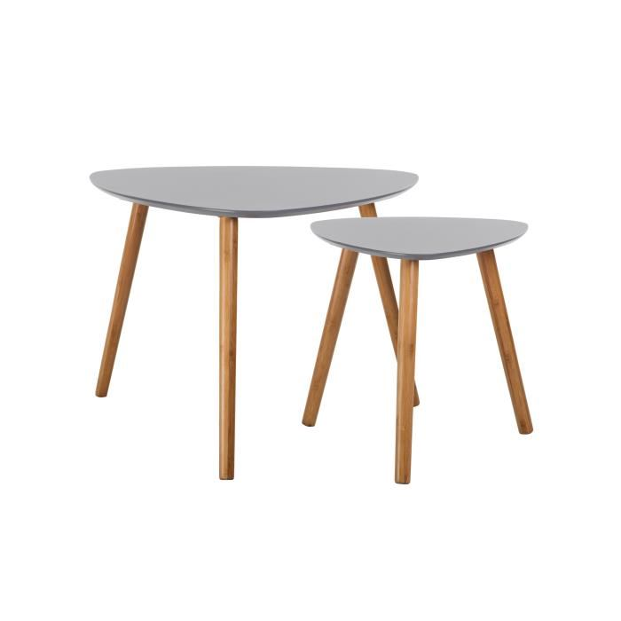 table scandinave grise