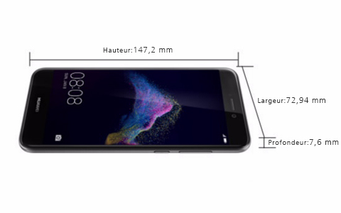 taille huawei p8 lite
