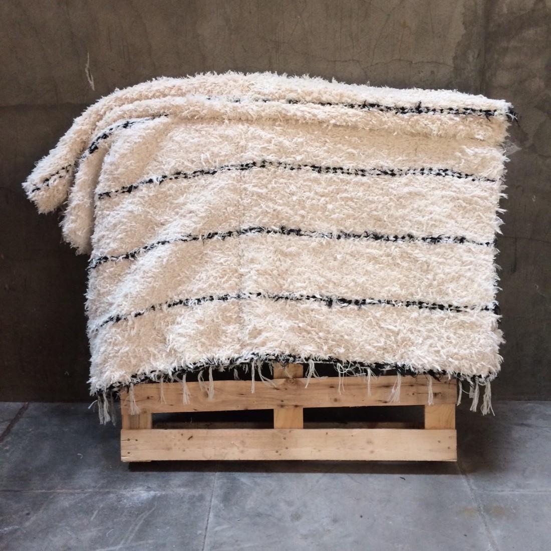 tapis coton recyclé