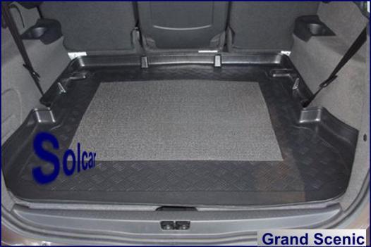 tapis de coffre grand scenic 3 5 places