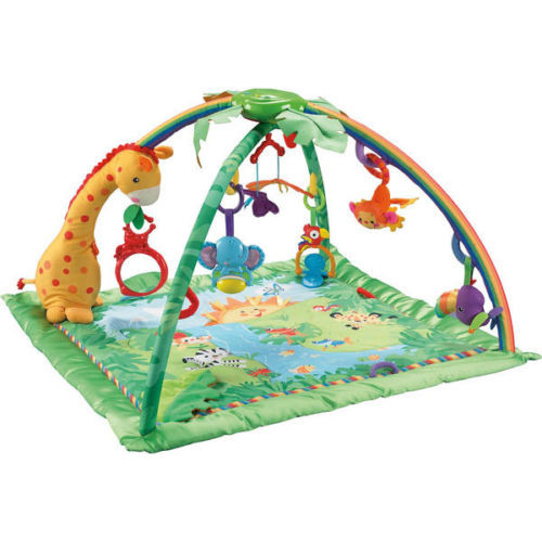 tapis d'éveil fisher price jungle pas cher