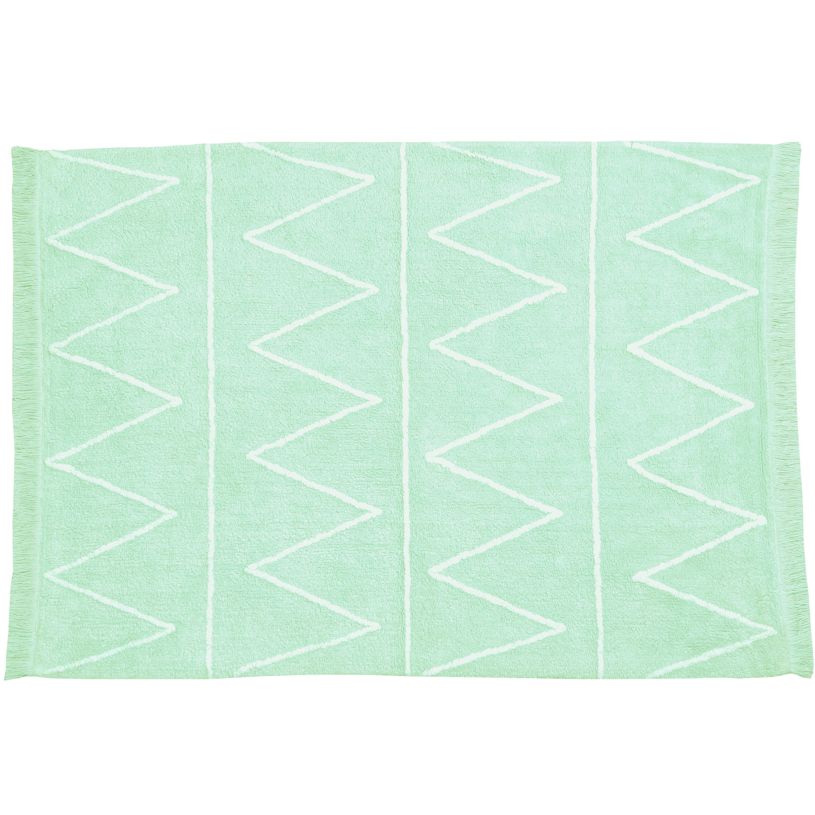 tapis enfant vert d'eau