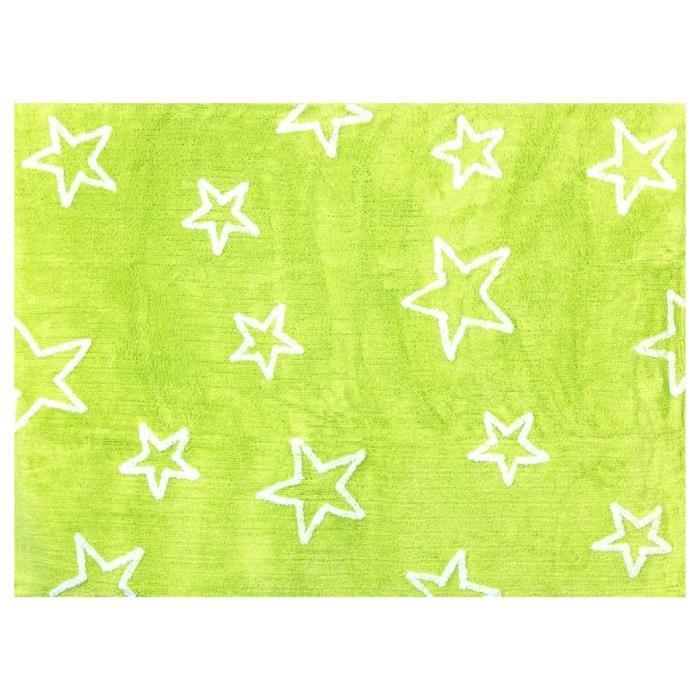 tapis enfant vert