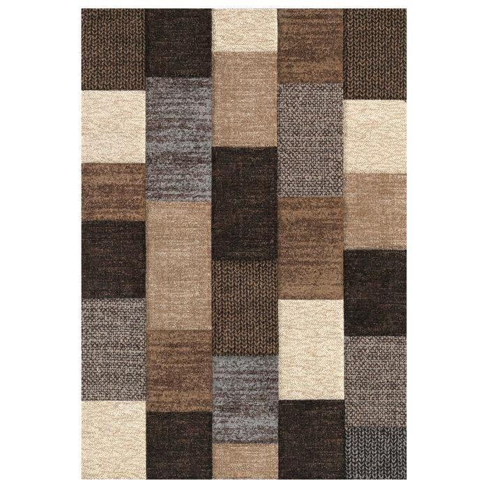 tapis marron