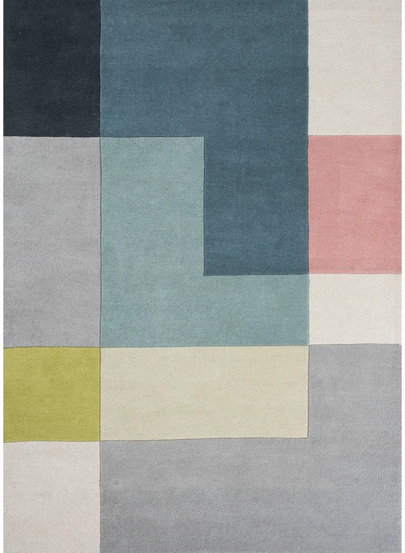 tapis motifs géométriques