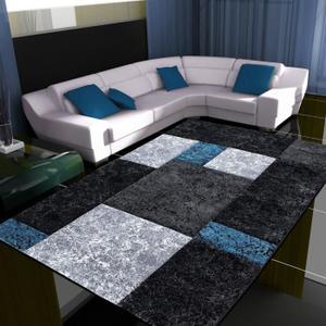 tapis salon gris bleu - Tapis De Salon Bleu