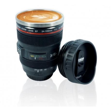 tasse café objectif photo