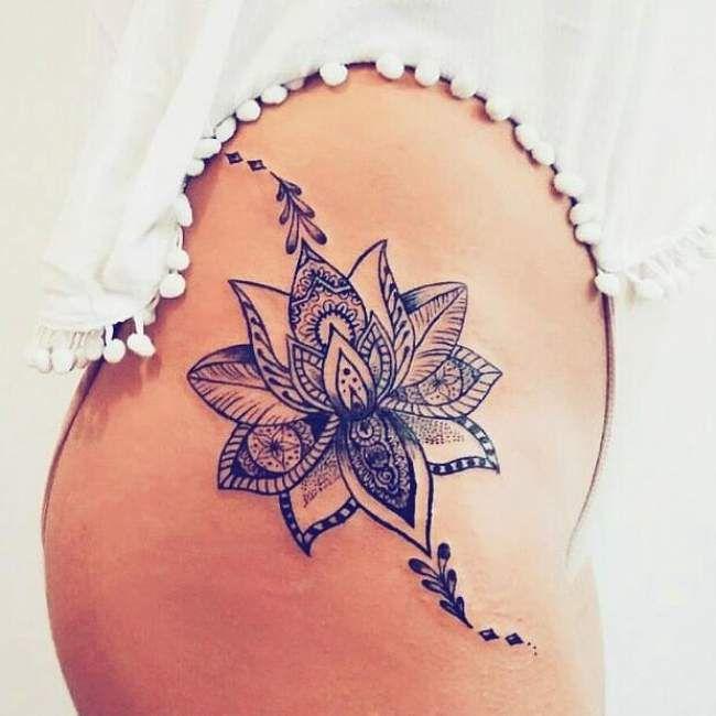 tattoo fleur mandala
