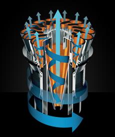 technologie cyclonique aspirateur