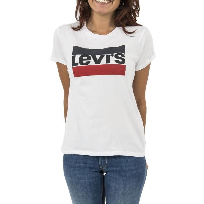tee shirt blanc levis