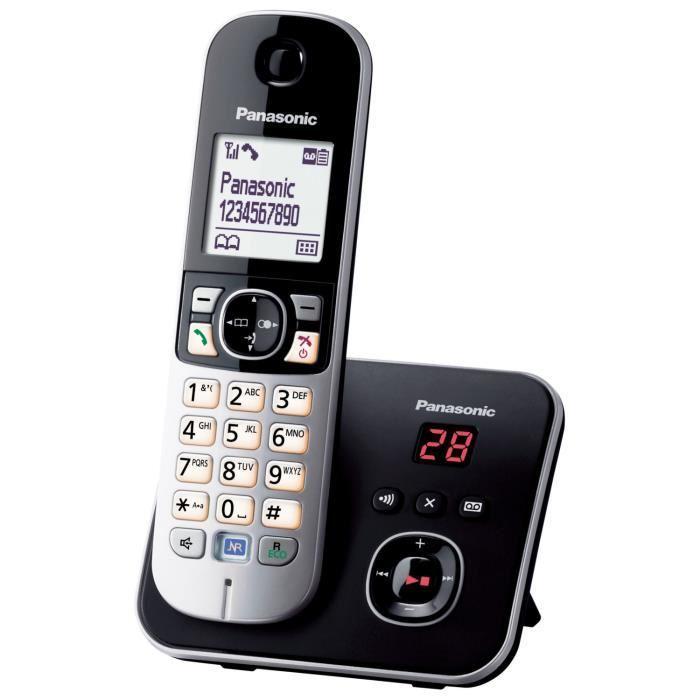 téléphone fixe sans fil répondeur