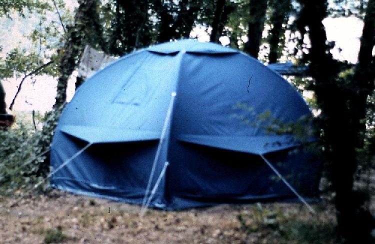 tente pneumatique