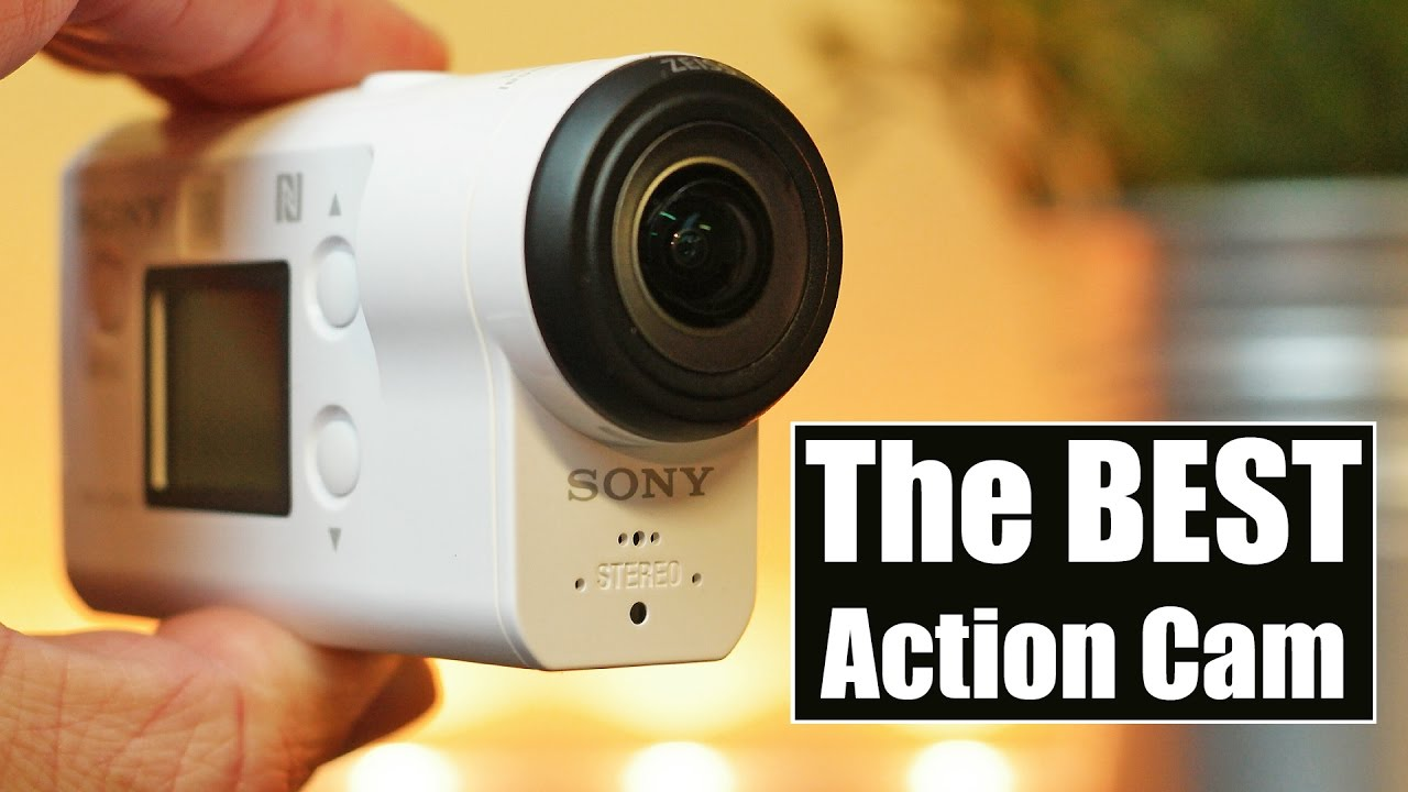 test action cam sony