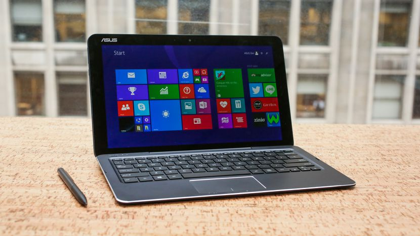 test asus transformer book t300