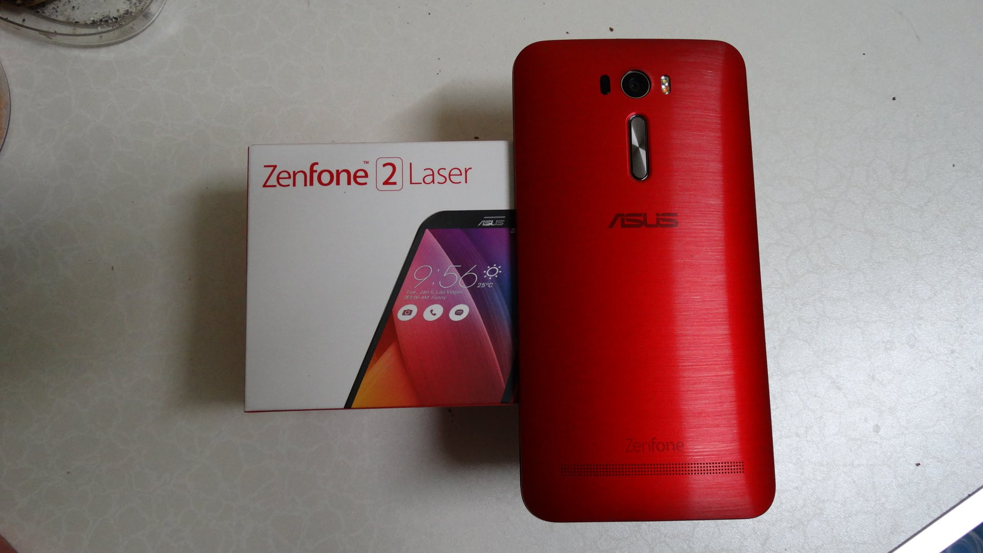 test asus zenfone 2 laser ze600kl