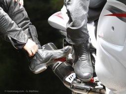 test bottes moto