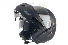 test casque moto modulable