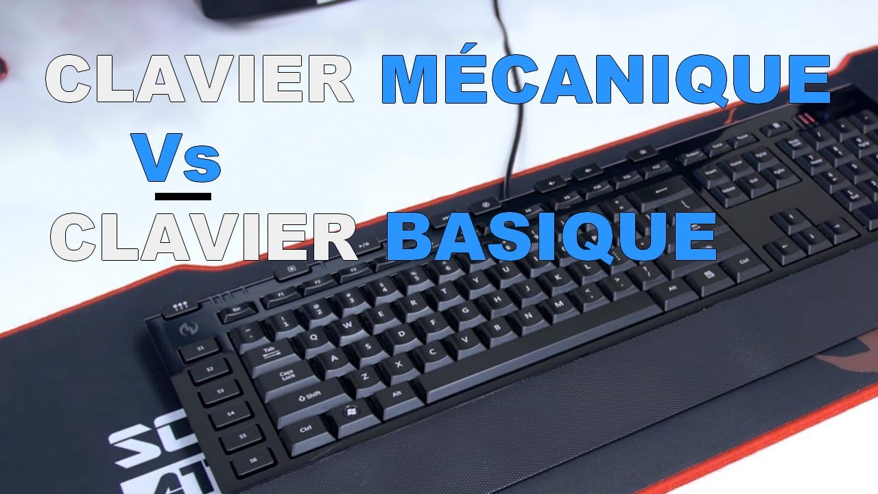 test clavier mecanique