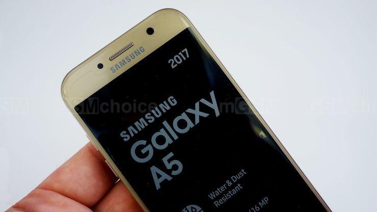 test galaxy a5