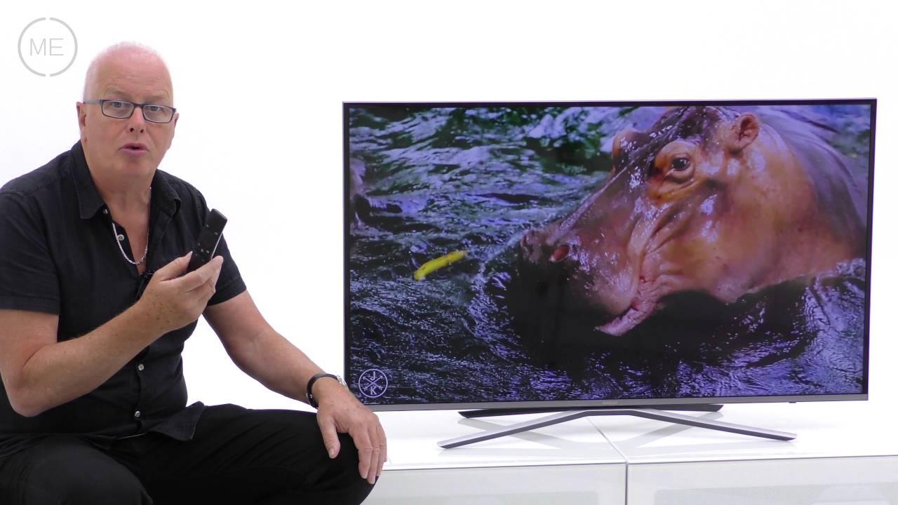 test tv 4k samsung