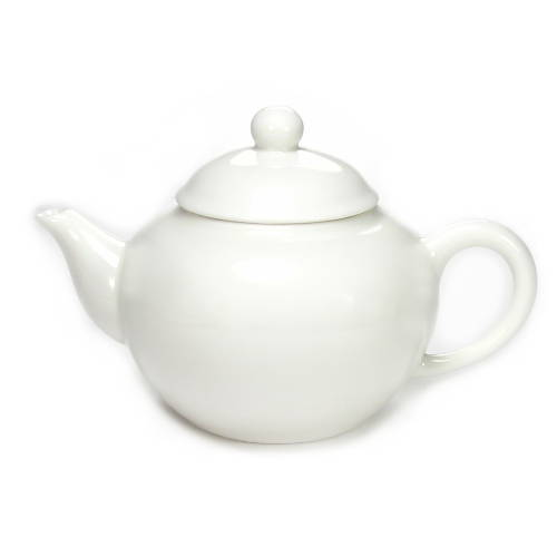 théière en porcelaine