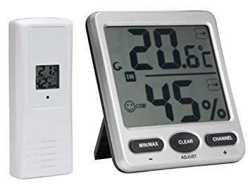 thermometre hygrometre avec sonde sans fil