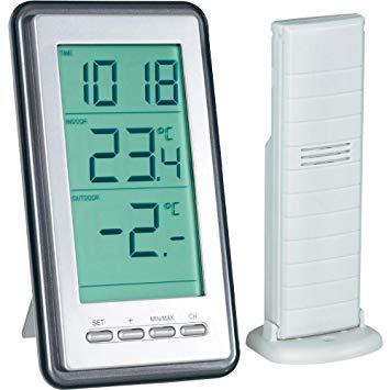 thermomètre sans fil avec capteur extérieur
