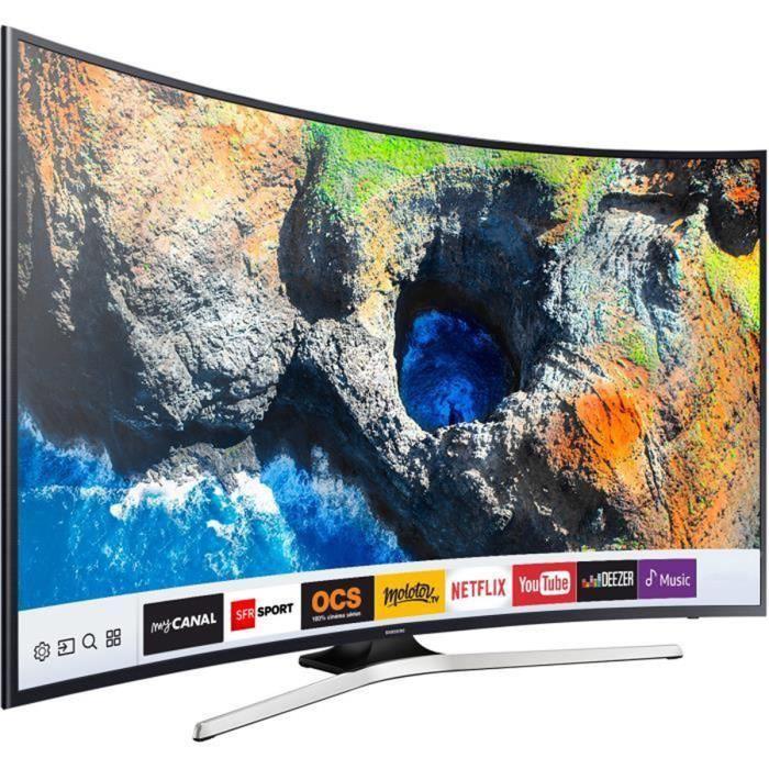 tv incurvé samsung prix