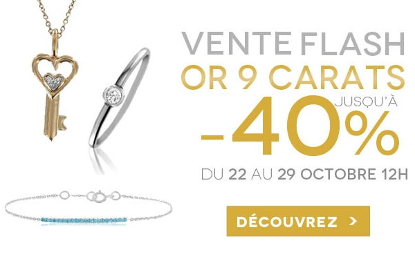vente flash bijoux