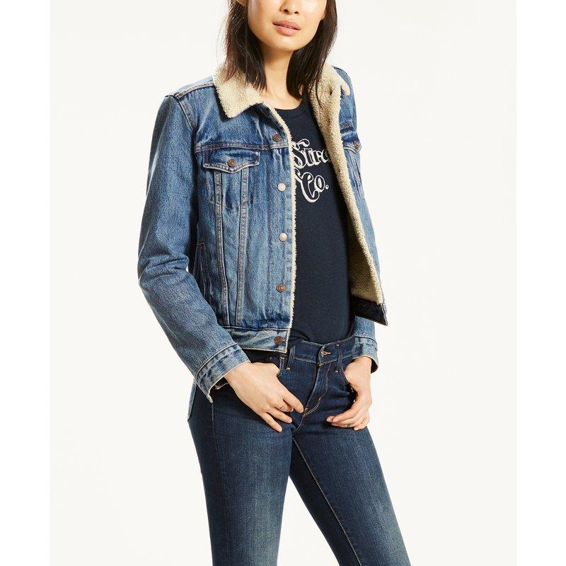 veste jean levis femme