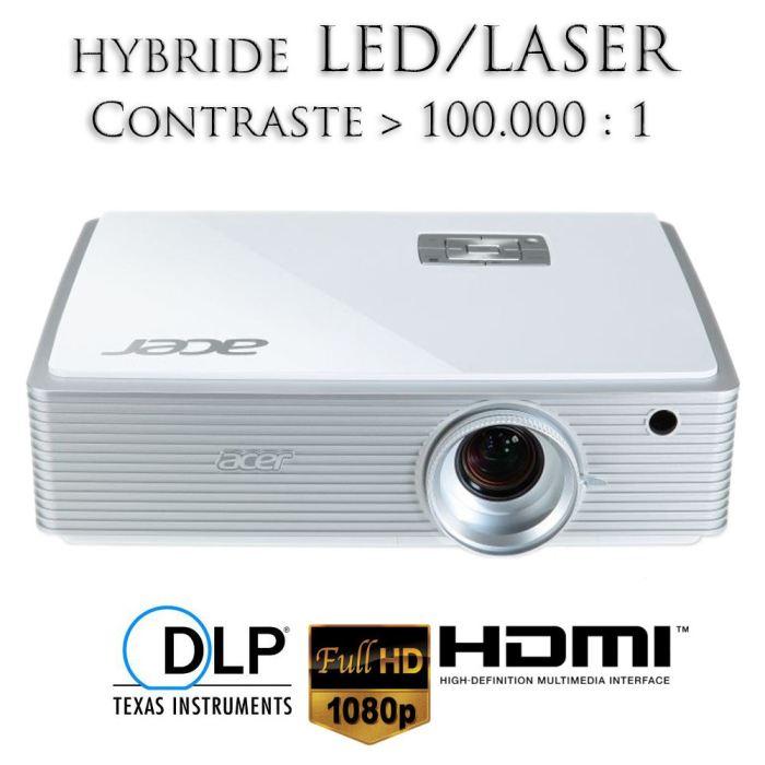 videoprojecteur led full hd 3d
